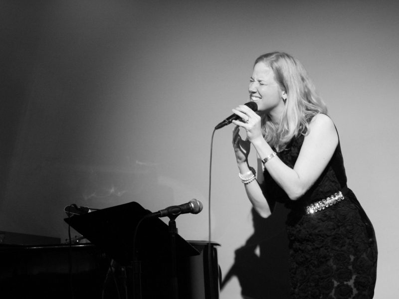 Vivienne Aerts op het podium