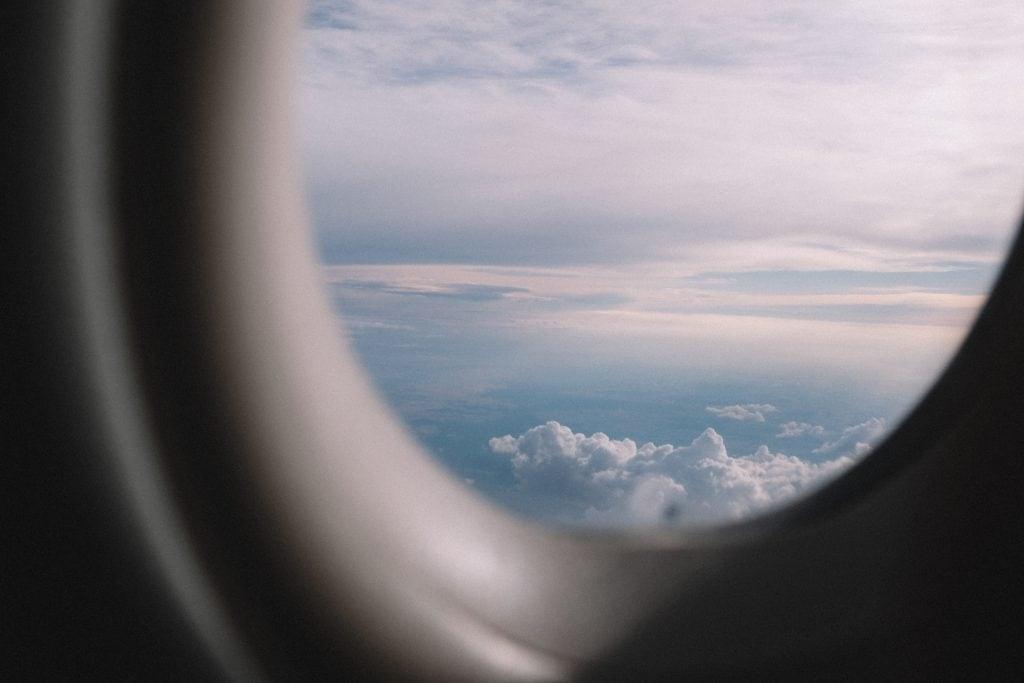 Vlucht vertraagd vliegtuigraam