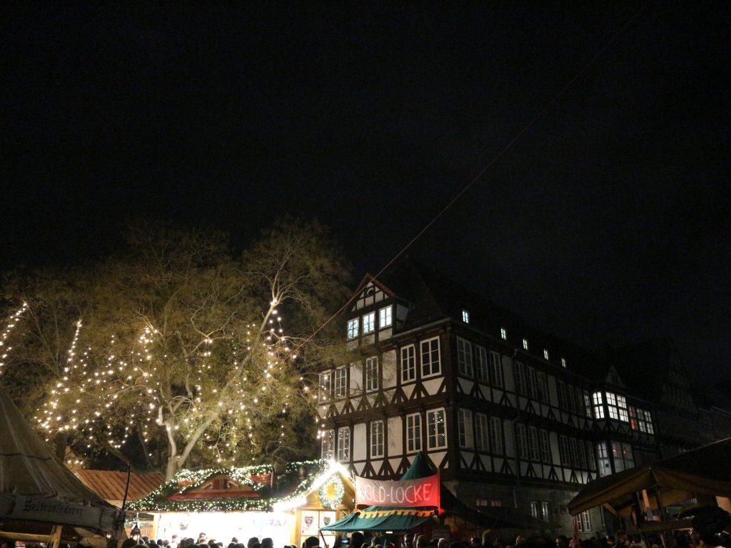 Weihnachtsmarkt an der Marktriche