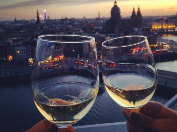 Wijn drinken doe je bij deze hotspots