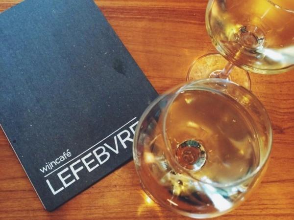 Wijn drinken doe je bij deze hotspots Wijncafe Lefebvre