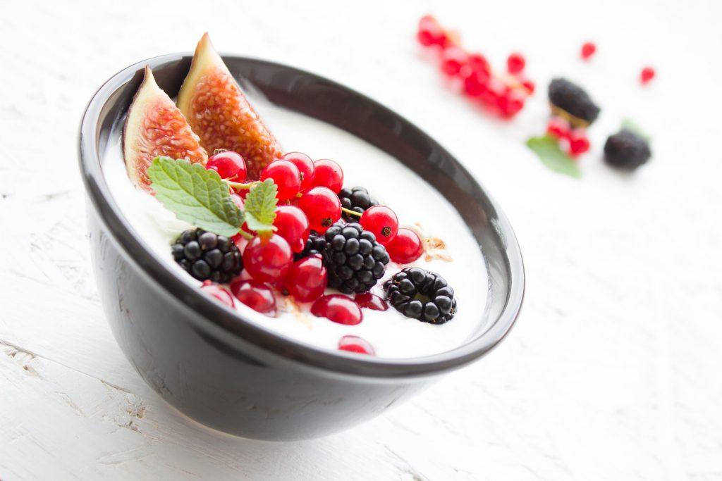 Yoghurt favoriet ontbijtje Rosan de Vos