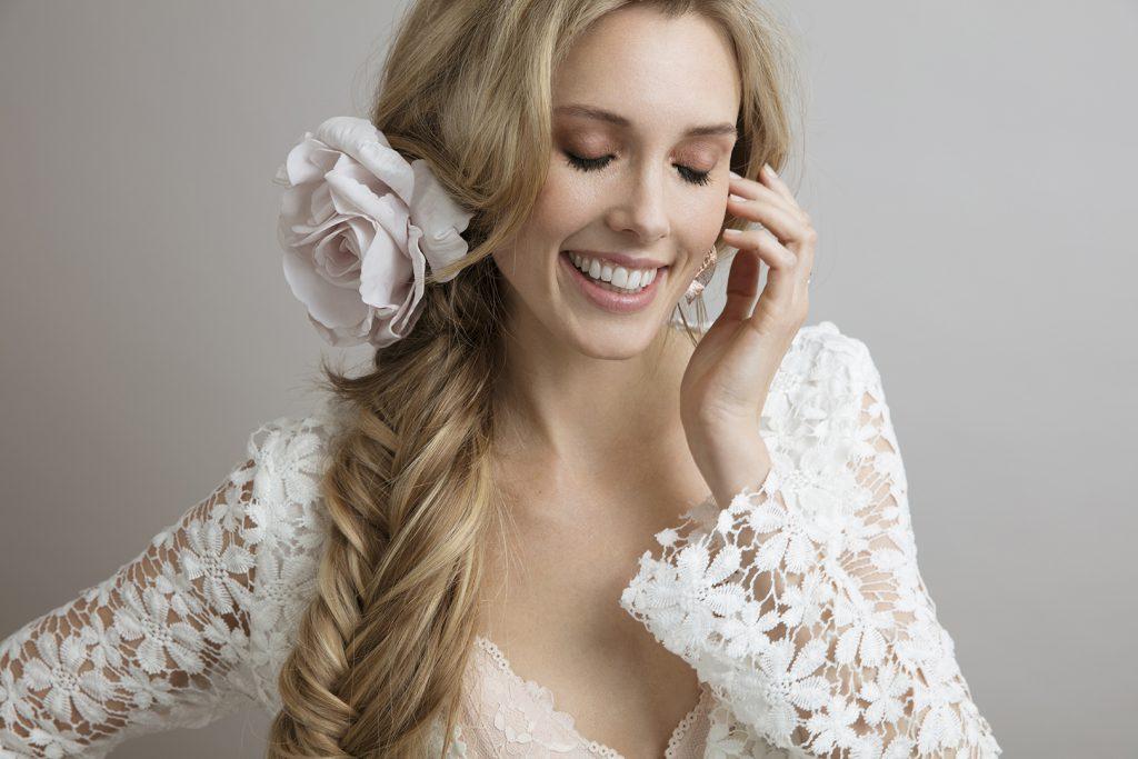 Zascha Hair extensions model