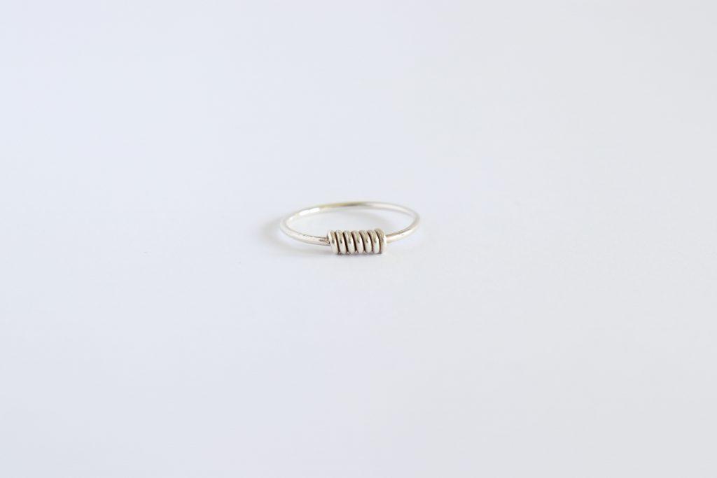 Zilveren ring AnologyStudio