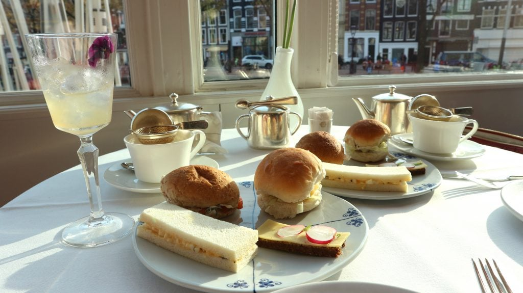 broodjes So Dutch Afternoon Tea De L'Europe