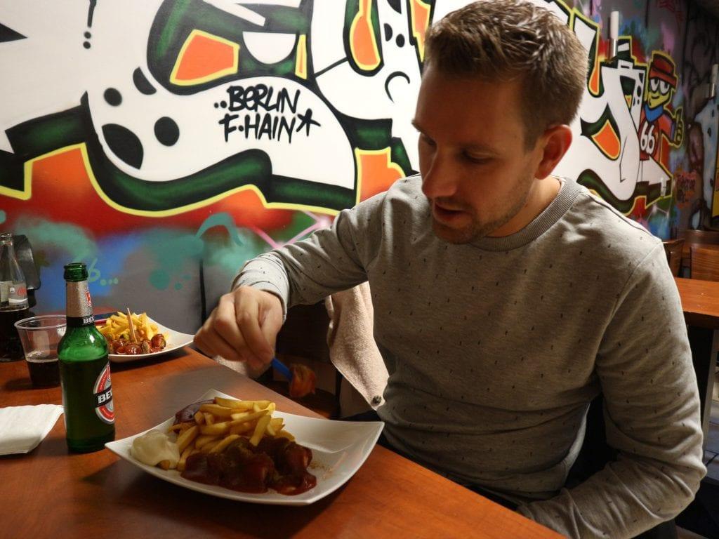 curryworst in Berlijn