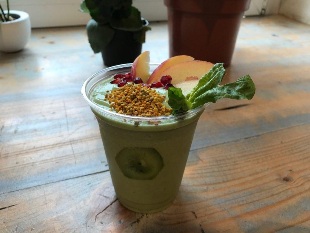 groene hotspots Utrecht vegan smoothie
