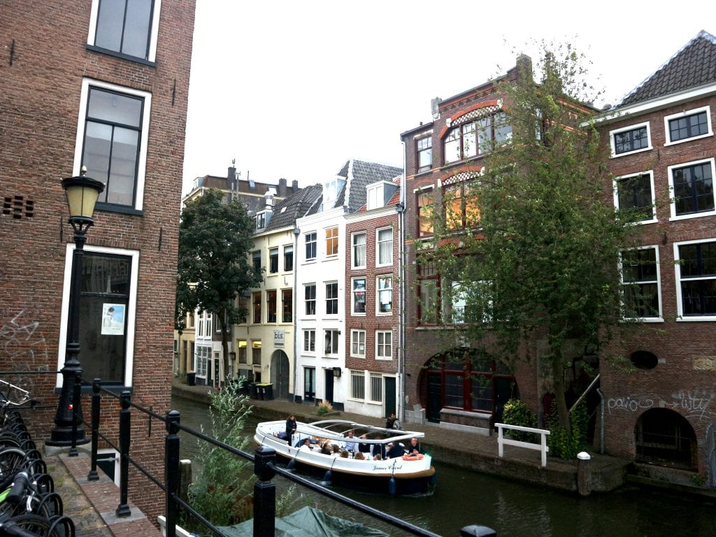 restaurant Bis aan de gracht Utrecht