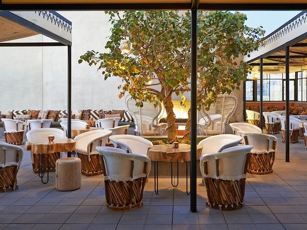 Hotspots van Rendi van Mason Garments Rooftop bij Ace Hotel