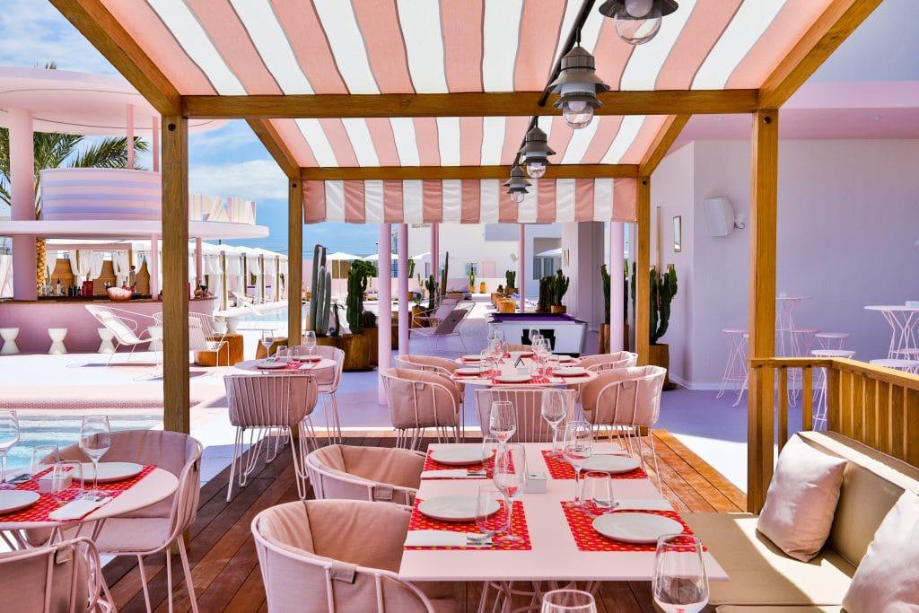 roze hotels Paradiso hotel Ibiza